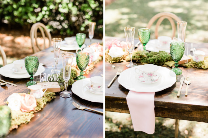 Sarah Christopher - wedding planning business styled shoot