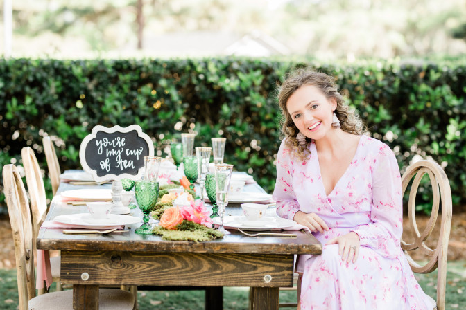 Sarah Christopher styled shoot for her event and wedding planning business - qc styled shoot contest runner up
