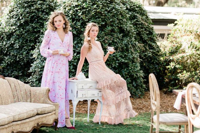 Ashlyn Burns and Kiarra Donnelly - Styled Shoot