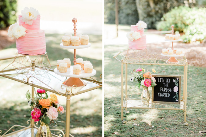 Delicieux Cakery - Cheers and Champagne Styled Shoot