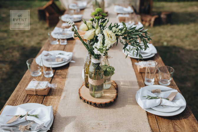 career in wedding planning - expanding your services to event decor