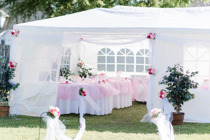 outdoor party planning by Katherine Snow
