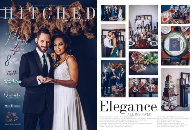 Roselle & Co featured on Hitched Magazine