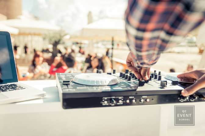 dj vendor at a promotional and live event