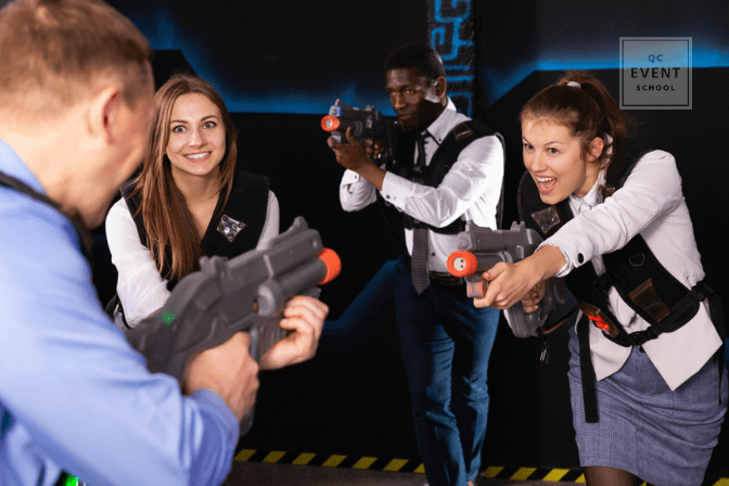 laser tag corporate retreat corporate event planning