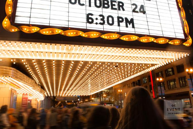 pre-screening movie theater event planner job internship