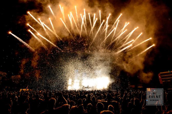 pyrotechnics outdoor event coordination internship