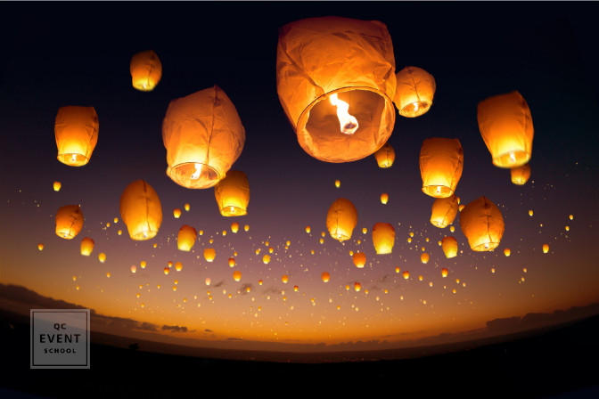 floating lanterns experience