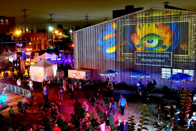 IngenuityFestival cleveland aerial view