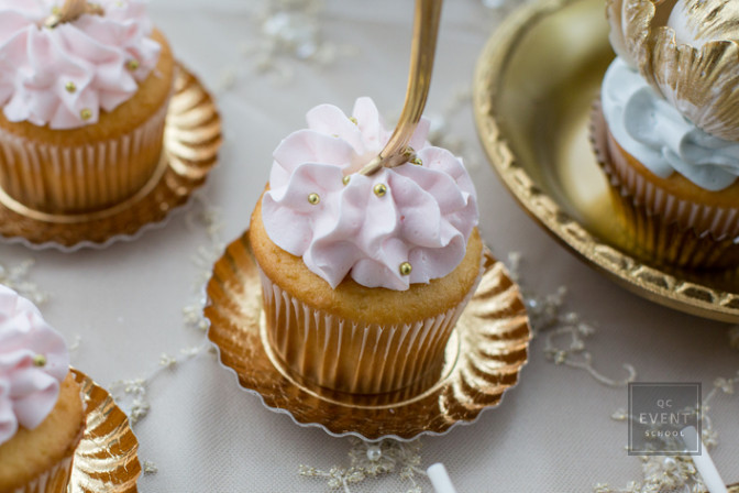 luxury wedding planning cupcakes
