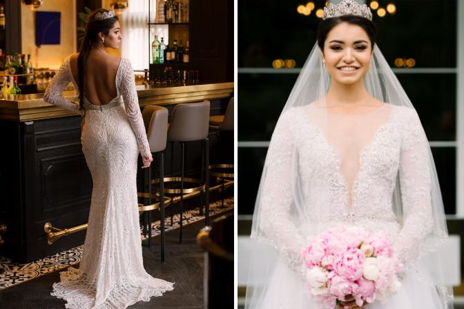 bride with bouquet MJP Events