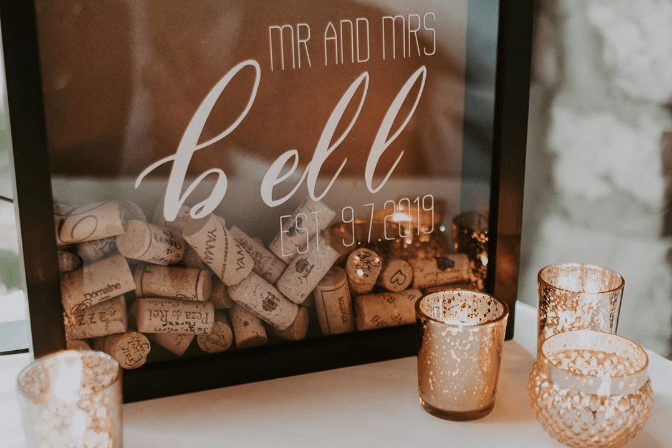 madyson bell wedding decor