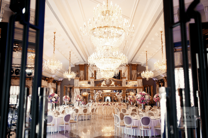 Luxury wedding reception venue