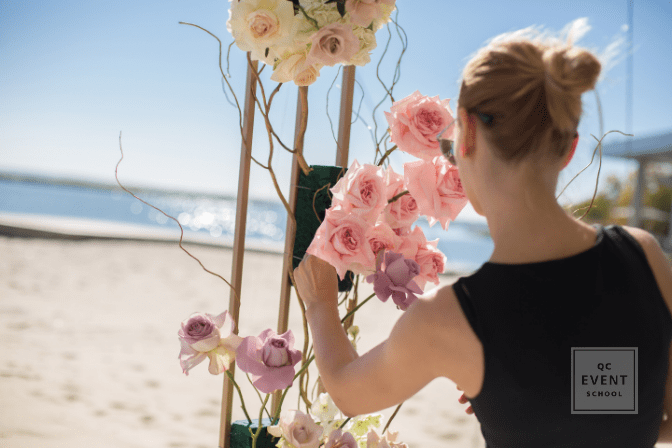 event planner increasing her salary by adding event decor to resume