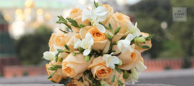 event planning floral design bouquet close-up