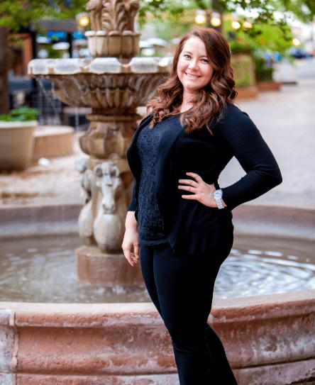 event planning student ambassador, Katherine Dionne