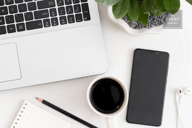online event planning training materials
