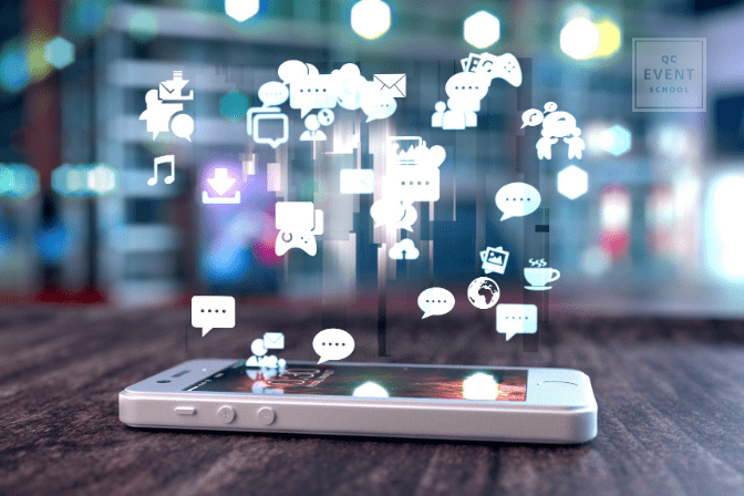 using social media to find event planner jobs