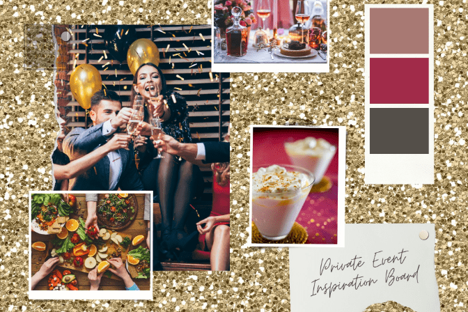 event planning inspiration board