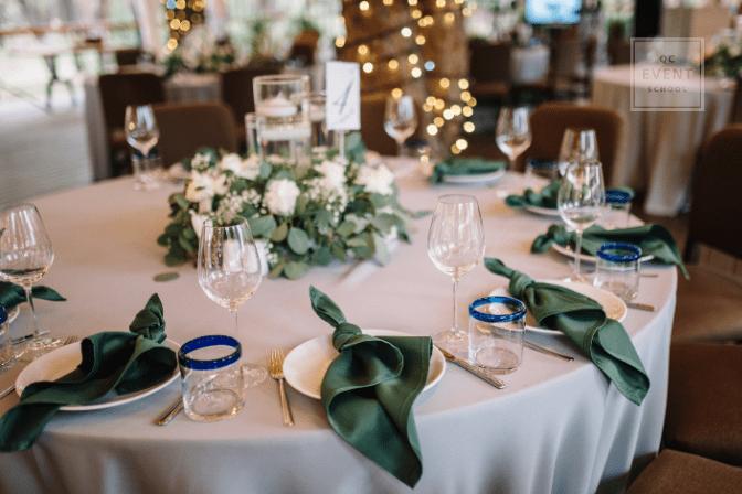 event ceremony table decor