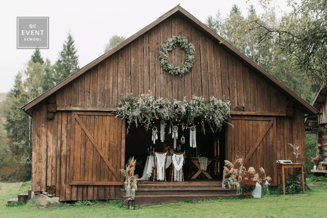 rustic barn for wedding