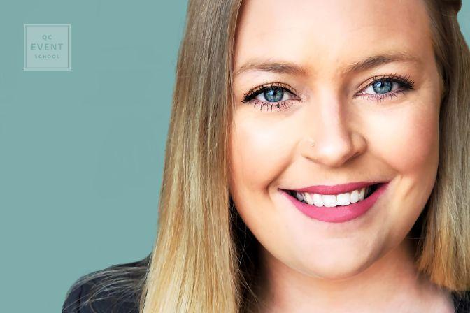 Event coordinator training article, May 18 2021, Nicole Thielmann headshot