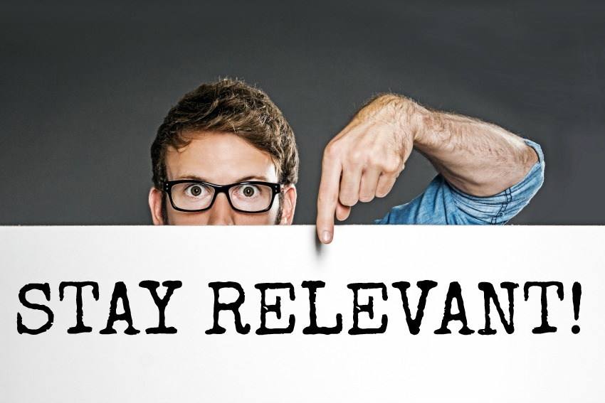 how to write a blog stay relevant