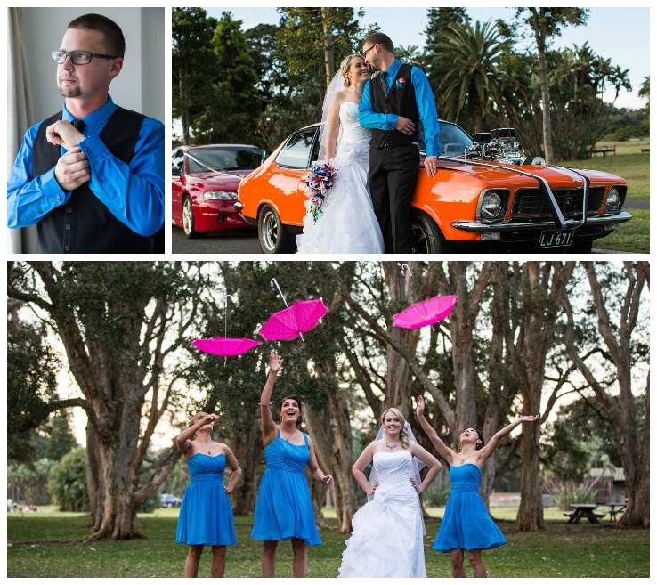 Jess Adlington Planned Wedding Collage