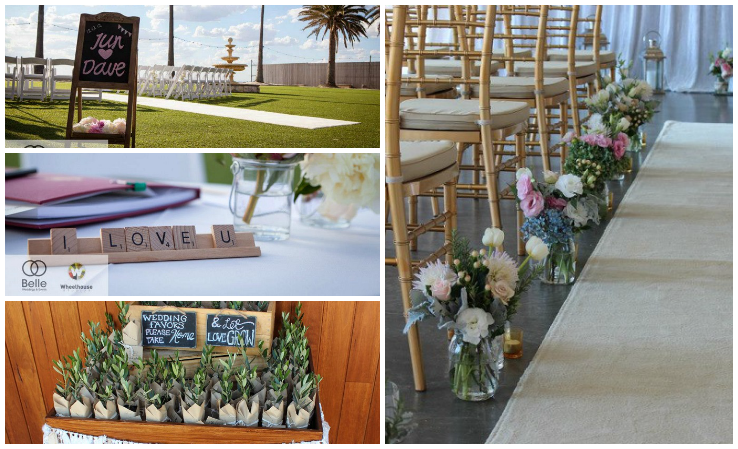 Michelle Panton Wedding Planning Business Collage