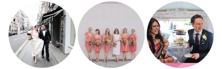Bijou Bride Wedding Collage