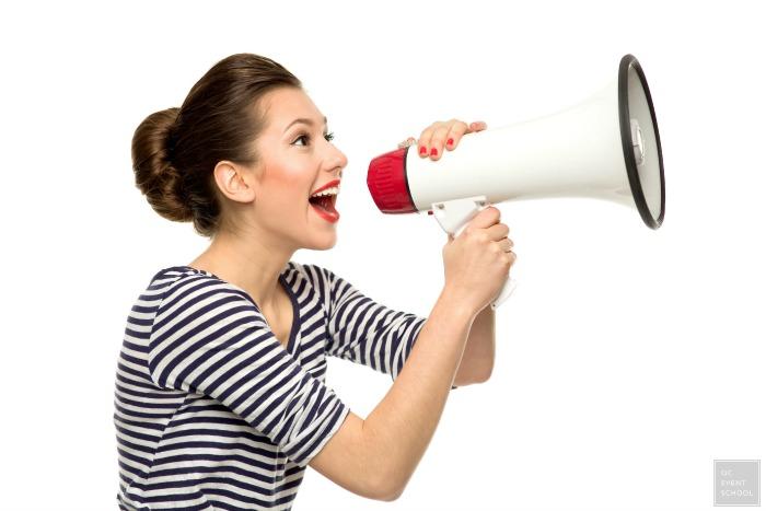 client experience megaphone