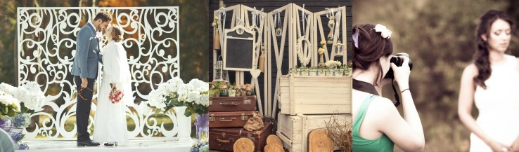 Wedding Styled Shoot Collage