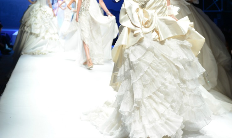 Wedding Fashion Show for wedding planners