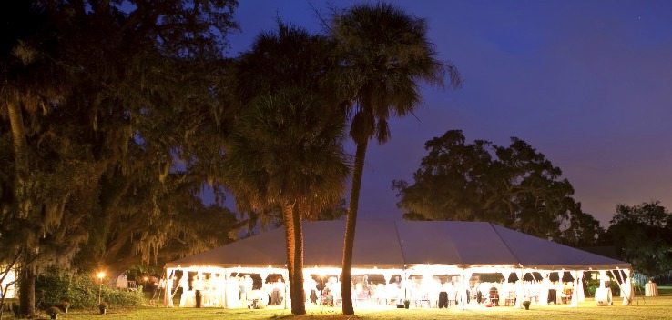 hosting Outdoor Tent Events