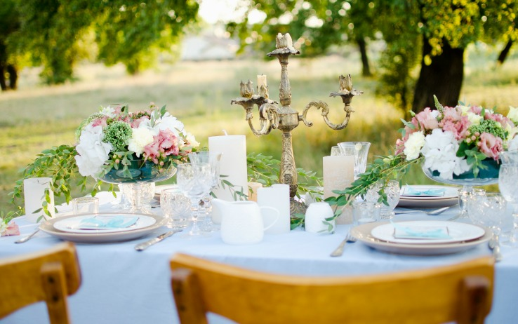 hosting Outdoor events Wedding Reception
