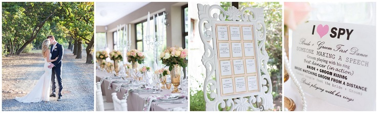 Wedding Planner Ashley Engelbrecht Showcase Collage
