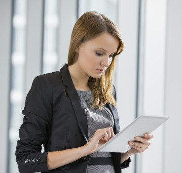 Event Planner Using Software on the Job