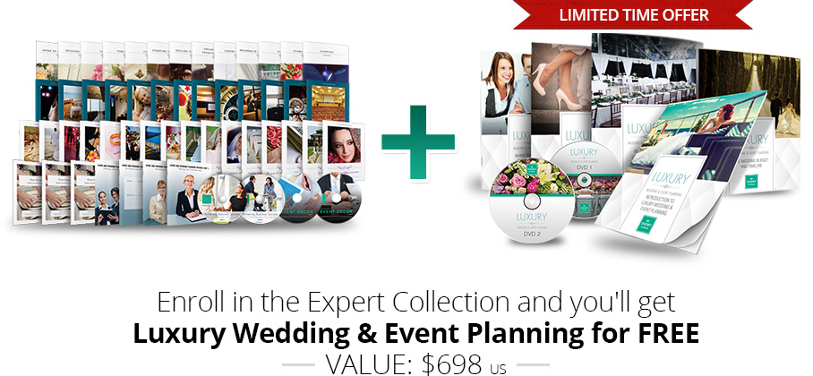 Expert Collection and Free Luxury Wedding & Event Planning Limited Time Offer