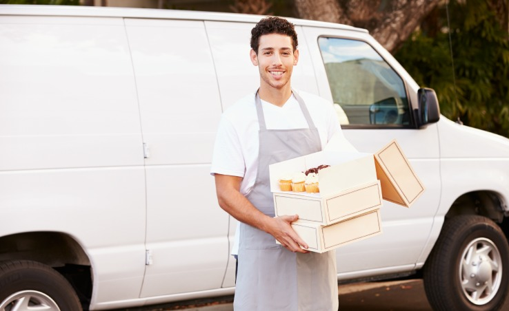 Vendor delivery for private venue