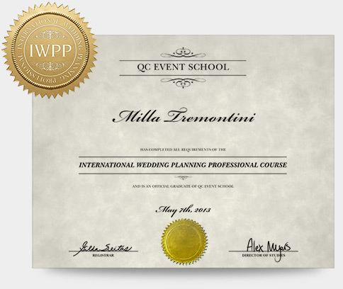 Online Wedding Planning Certification