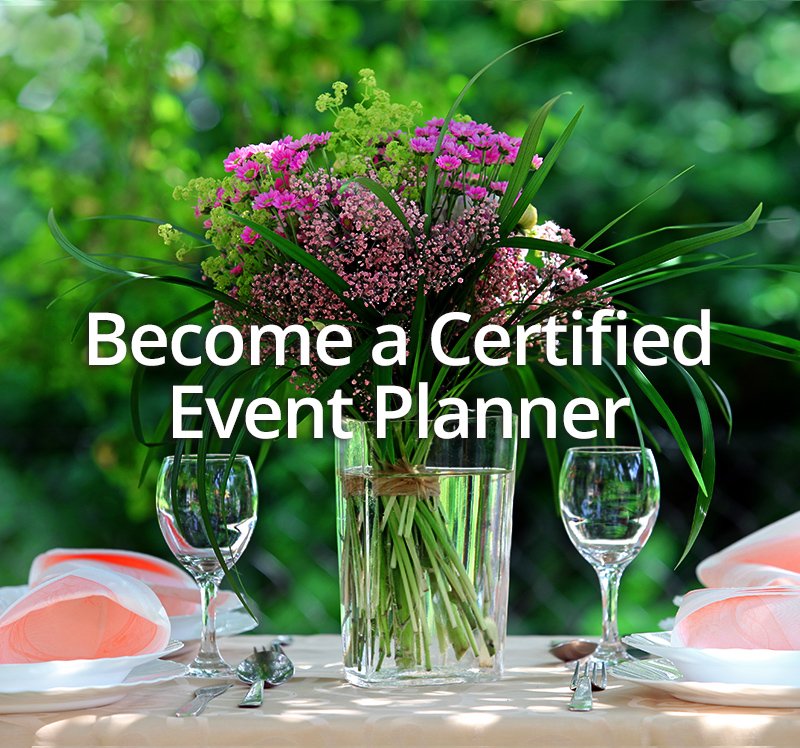 Become a Certified Event Planner