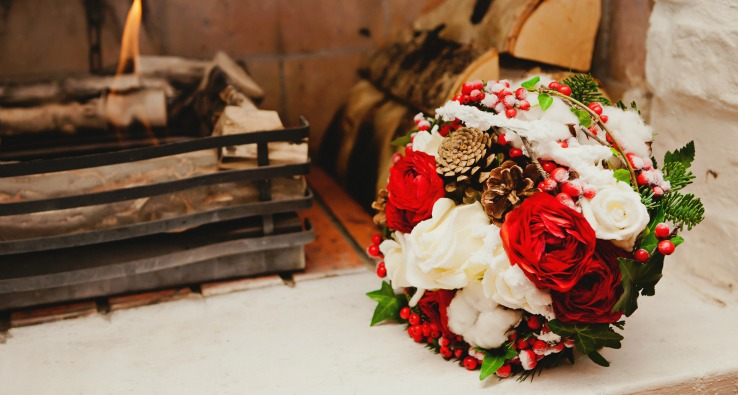 Event Blog How to Get into Wedding Planning for Winter Weddings- Bouquets