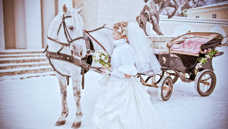 Event Blog How to Get into Wedding Planning for Winter Weddings- Sleigh