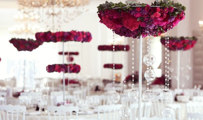 Elegant and innovative wedding design