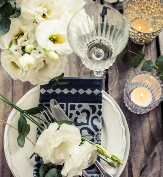 Table setting wedding styled shoot