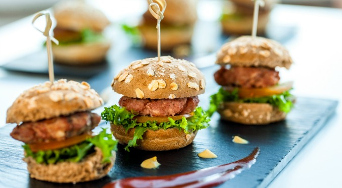 Miniature hamburgers