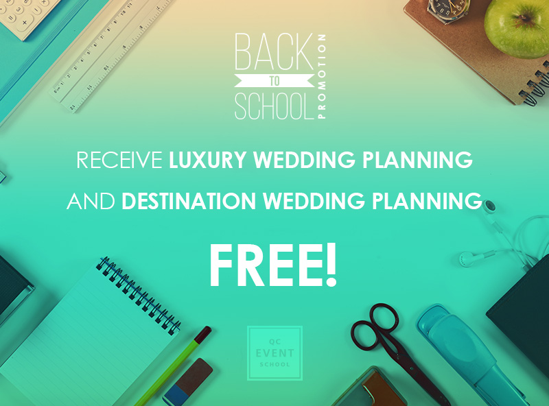 Luxury Wedding & Wedding Planning Course Materials