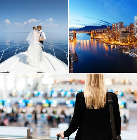 Destination Wedding Travel and Tourism Course Collage