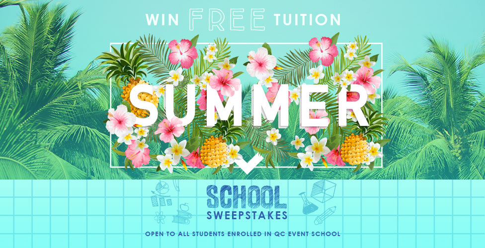 QC Event School Summer School Sweepstakes 2017- Free Tuition