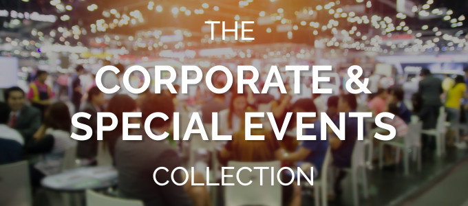 corporate course package for event planners